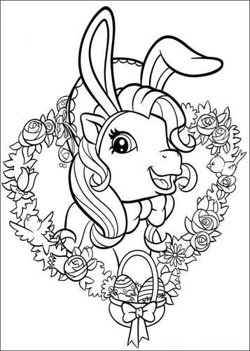 Kids N Funde 70 Ausmalbilder Von My Little Pony