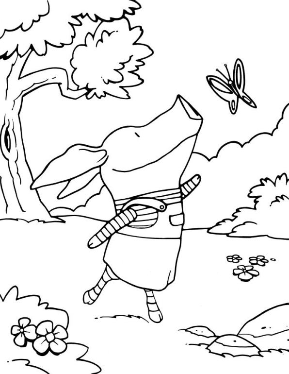 olivia coloring pages for kids - photo#25