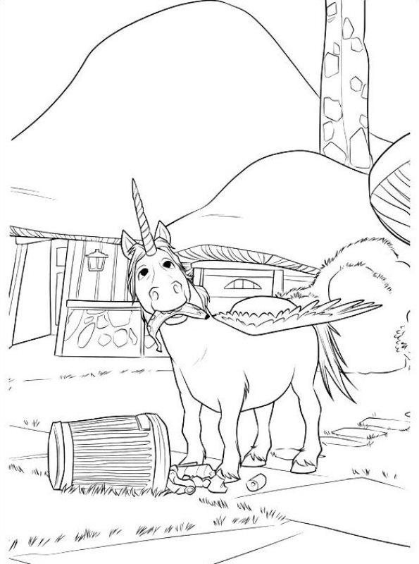kidsnfunde  malvorlage onward onward unicorn