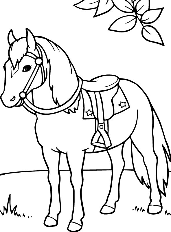 kidsnfunde  malvorlage pferde pferde