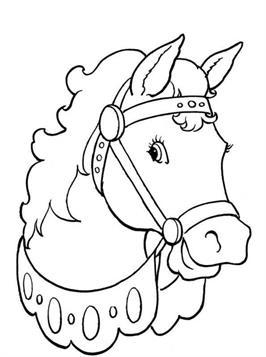 Ausmalen kostenlos online pferde 64 Pferde