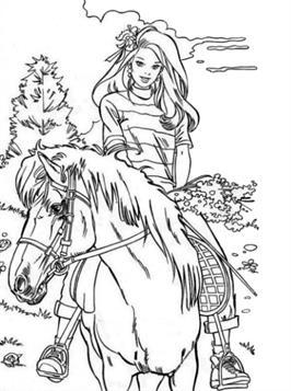 Kids N Fun De 63 Ausmalbilder Von Pferde