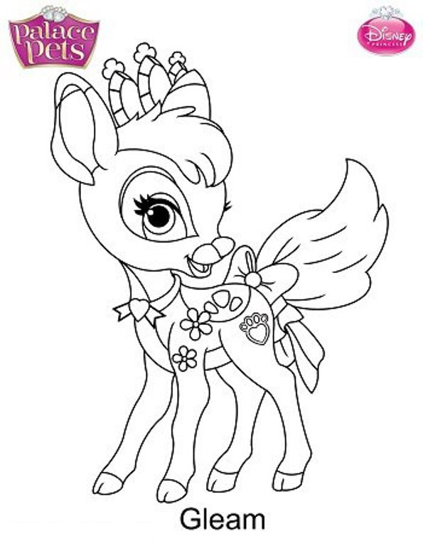 disney pets coloring pages - photo#20