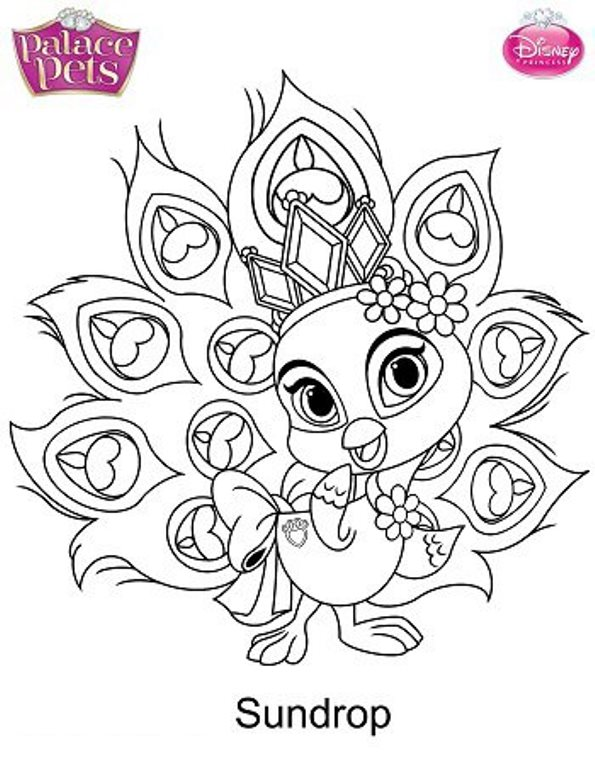 disney pets coloring pages - photo#29