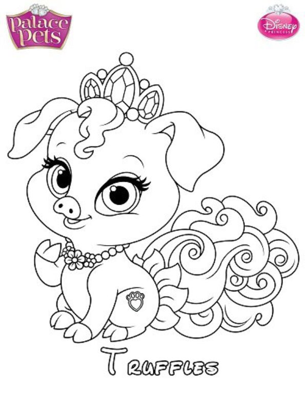 disney pets coloring pages - photo#27