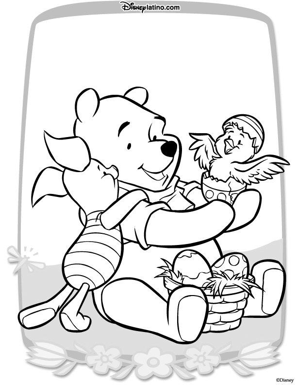 Kids-n-fun.de | 21 Ausmalbilder von Ostern mit Disney