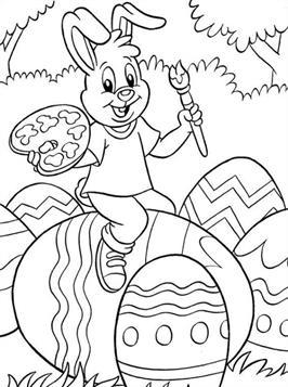 Gratis ausmalbilder ostern 35 Oster