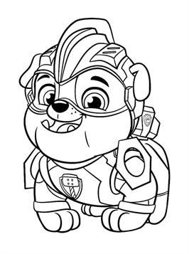 Kids N Fun De 24 Ausmalbilder Von Paw Patrol Mighty Pups