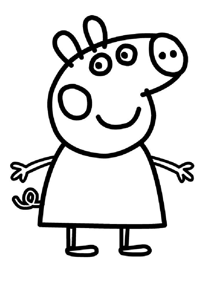 Kids-n-fun.de | 20 Ausmalbilder von Peppa Pig