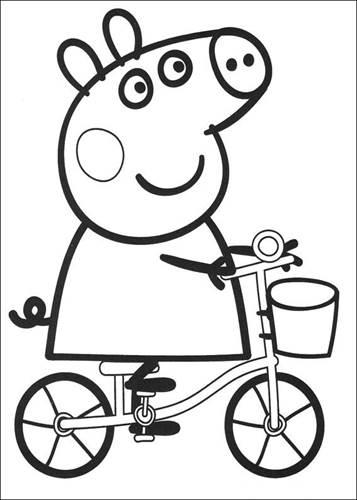 Kids-n-fun De | 20 Ausmalbilder Von Peppa Pig