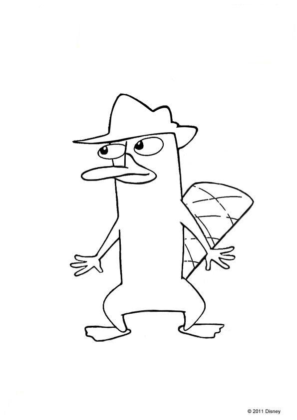 Kids N Fun De 31 Ausmalbilder Von Phineas Und Ferb