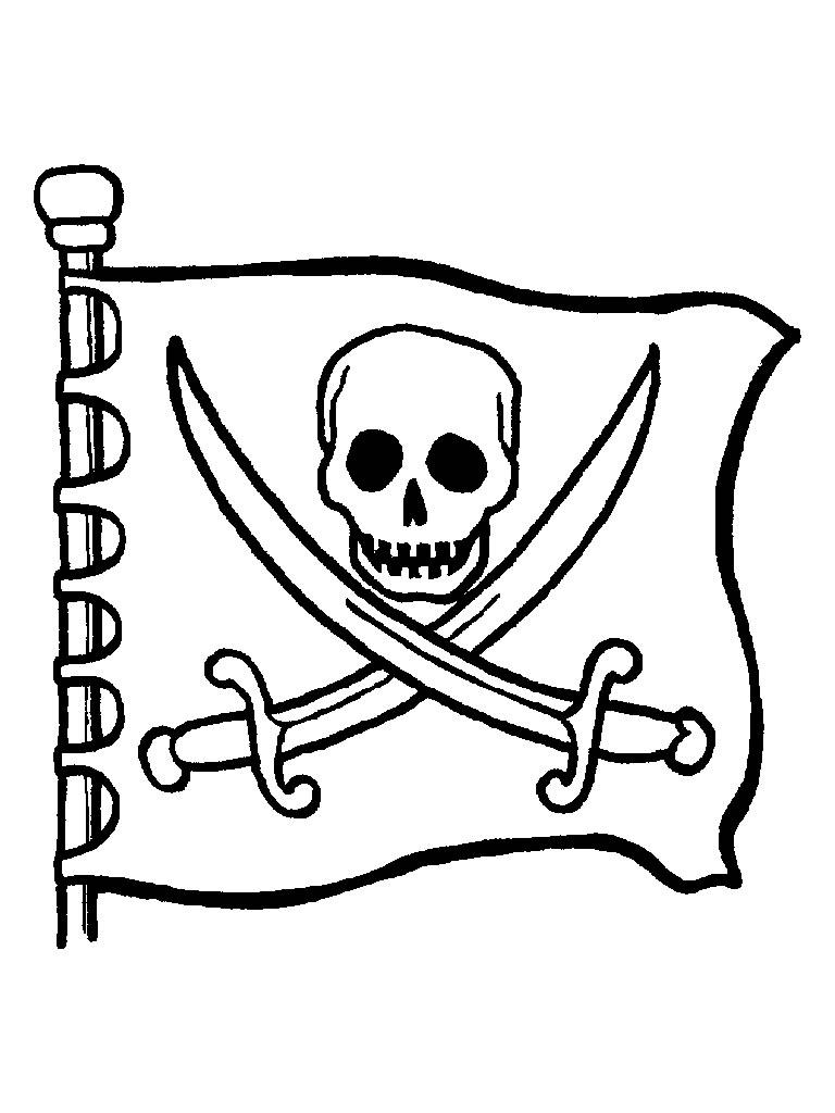 Kids-n-fun.de | 31 Ausmalbilder von Piraten