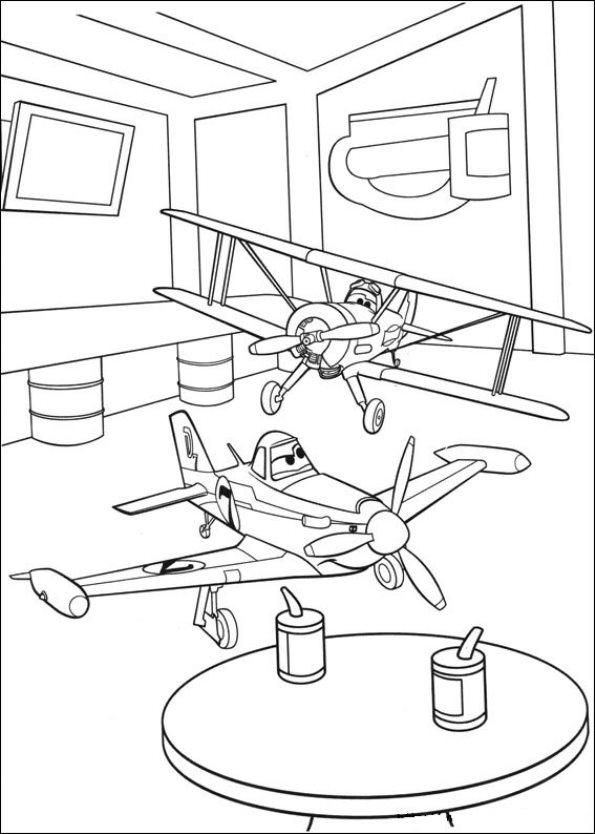 Kids N Fun De 69 Ausmalbilder Von Planes 2