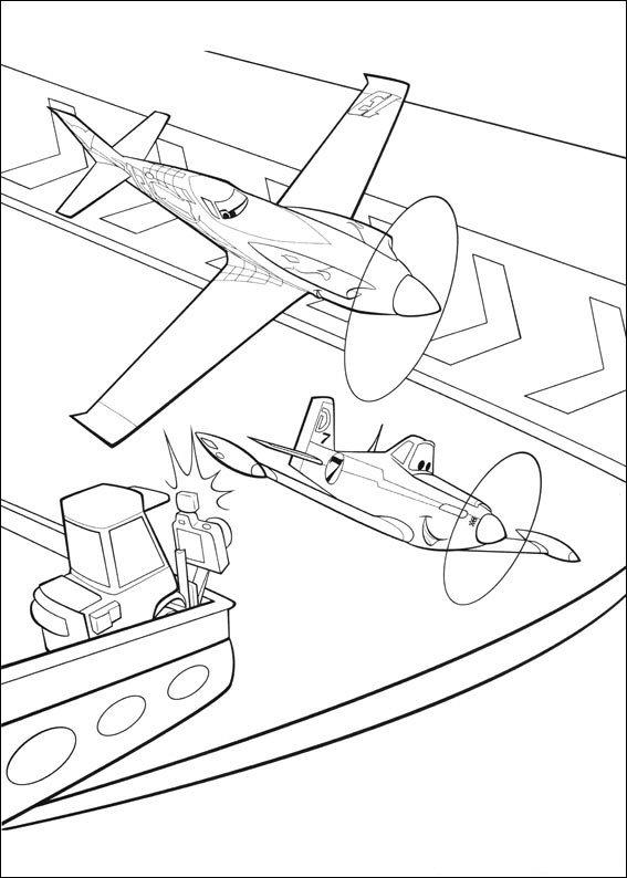 kidsnfunde  33 ausmalbilder von planes