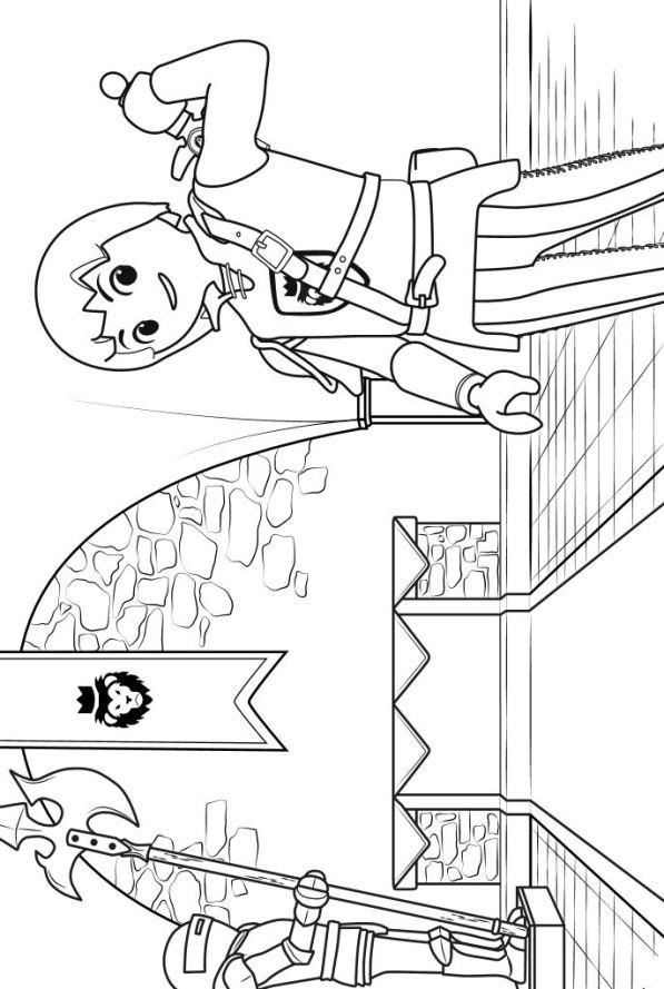 Kinder Kleurplaten Paarden Kids N Fun De 8 Ausmalbilder Von Playmobil Super 4