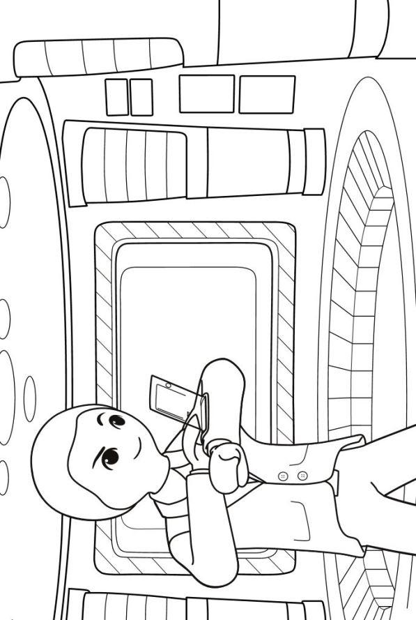 Kids N Fun De 8 Ausmalbilder Von Playmobil Super 4