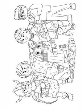 Kids N Fun De 5 Ausmalbilder Von Playmobil The Movie
