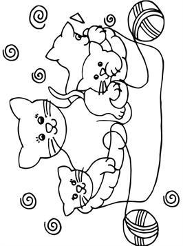 n de 68 ausmalbilder katze