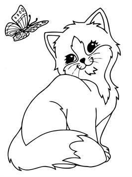 Kids N Funde 68 Ausmalbilder Von Katze