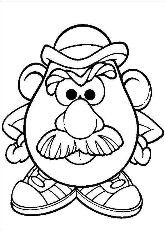 Kids-n-fun.de | 57 Ausmalbilder von Mr. Potato Head