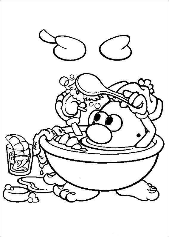 Kids-n-fun.de | Ausmalbild Mr. Potato Head Mr. Potato Head