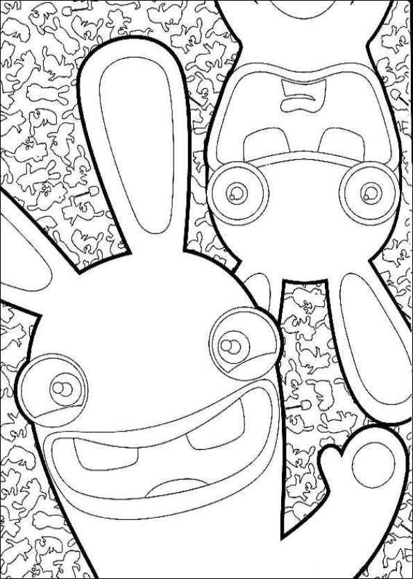 Gratis Kleurplaten Marsupilami.Rayman Kleurplaat Kids N Fun De 17 Ausmalbilder Von Rabbids Invasion