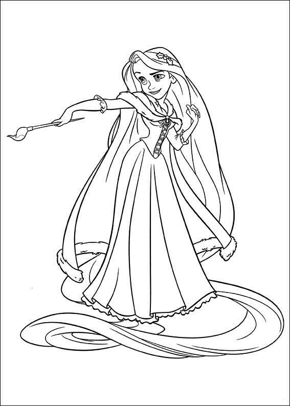 Kids n 20 ausmalbilder von rapunzel - Reponse dessin anime ...