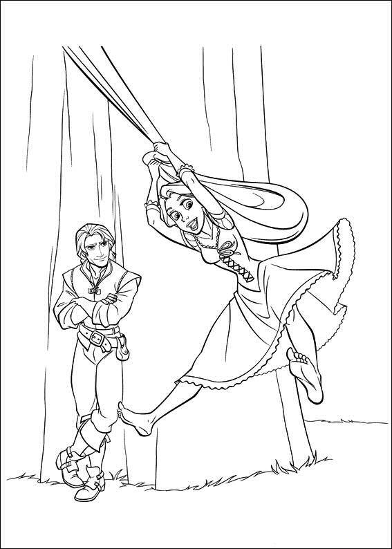 Kids N Fun De 20 Ausmalbilder Von Rapunzel
