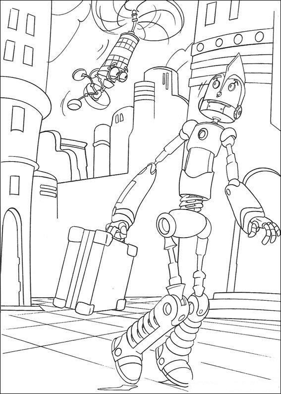 kidsnfunde  malvorlage roboter roboter