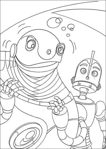 kidsnfunde  18 ausmalbilder von roboter