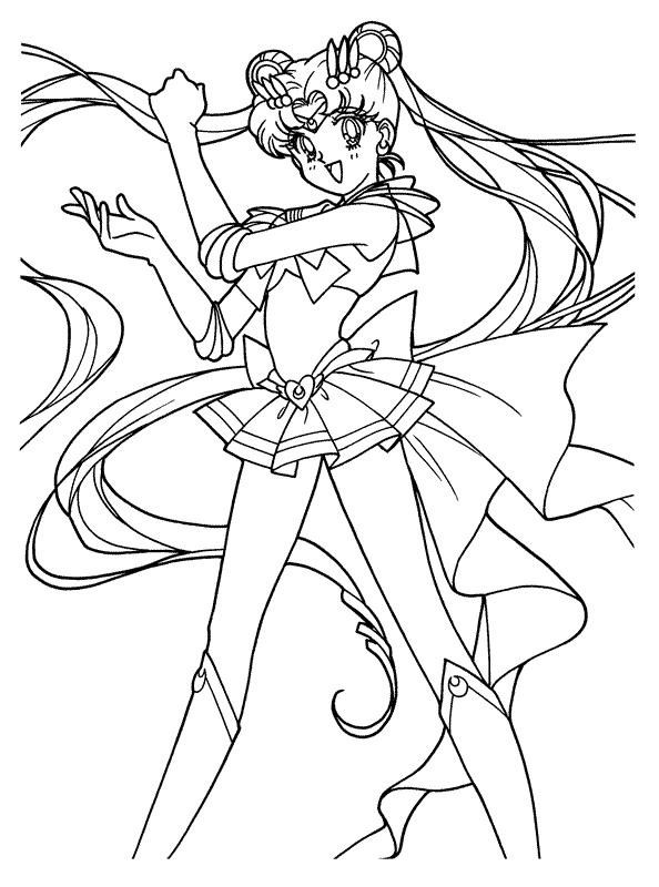 Kids-n-fun.de | 66 Ausmalbilder von Sailor Moon
