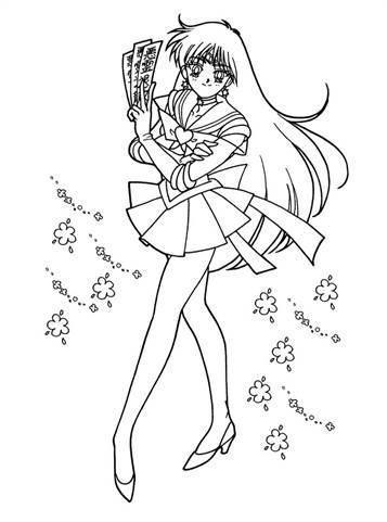 Kids N Fun De 66 Ausmalbilder Von Sailor Moon