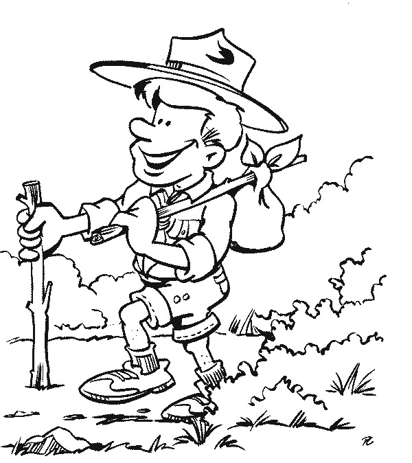 Cub Scout Coloring Book Pages