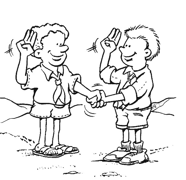 funny boy scout coloring pages - photo#20