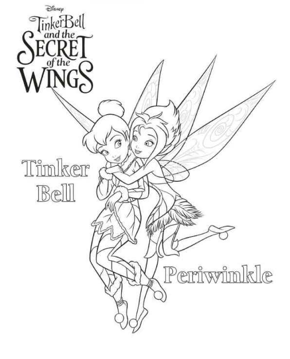 Kids N Fun De 15 Ausmalbilder Von Tinkerbell Das Geheimnis Der