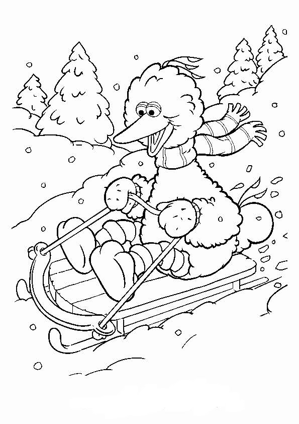 Kids-n-fun.de   11 Ausmalbilder von Wintersport