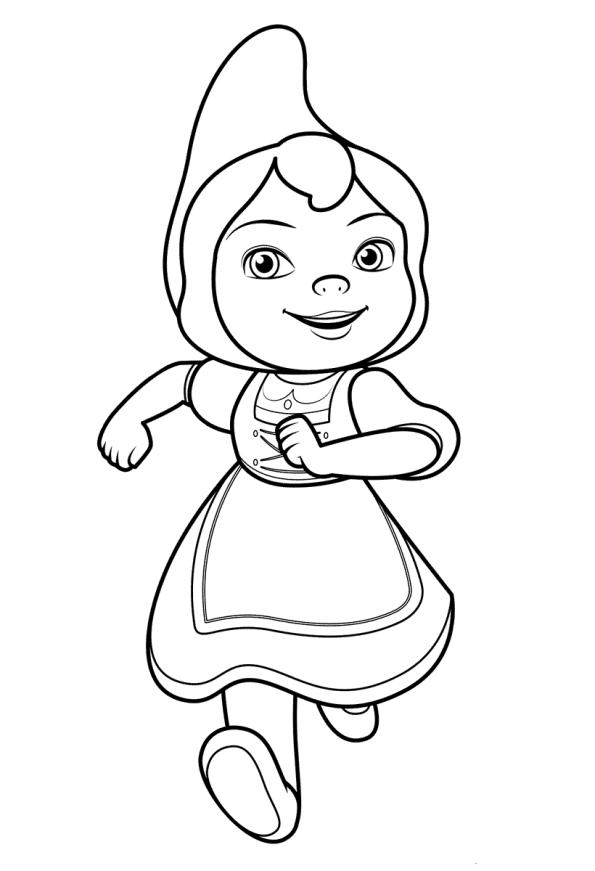 Kids N Fun De 8 Ausmalbilder Von Sherlock Gnome