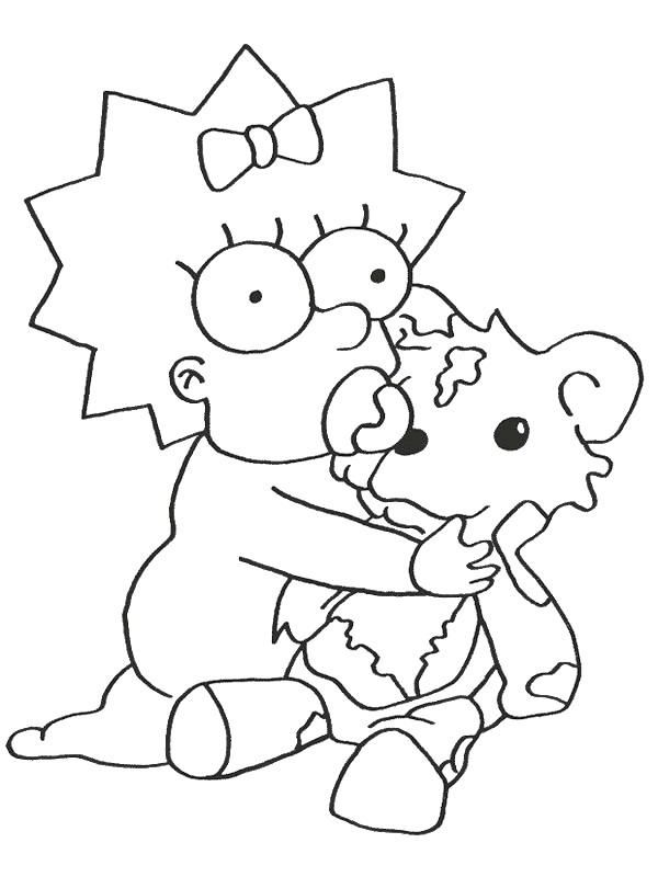 Kids-n-fun.de | 58 Ausmalbilder von Simpsons