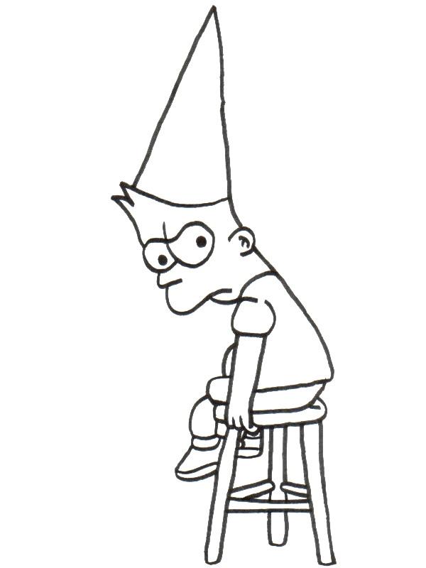 Kids-n-fun.de   58 Ausmalbilder von Simpsons