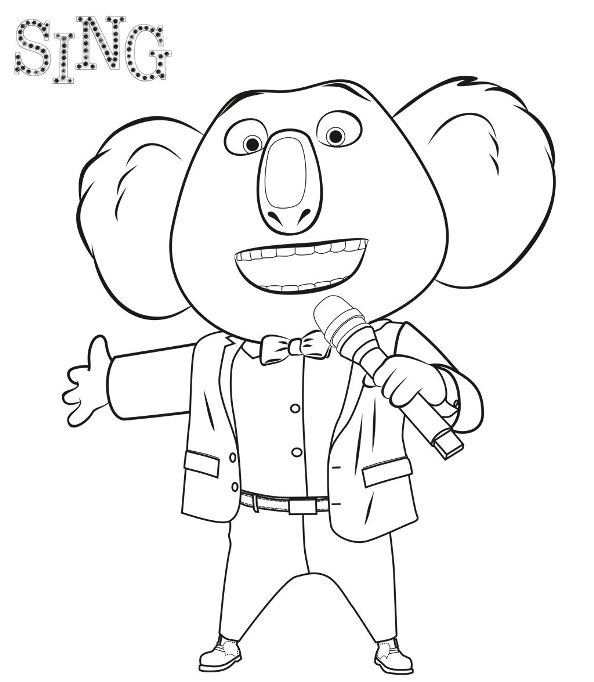 Sing Malvorlagen | heimhifi.com