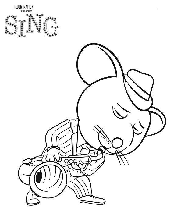 Kids n funde 31 Ausmalbilder Von Sing