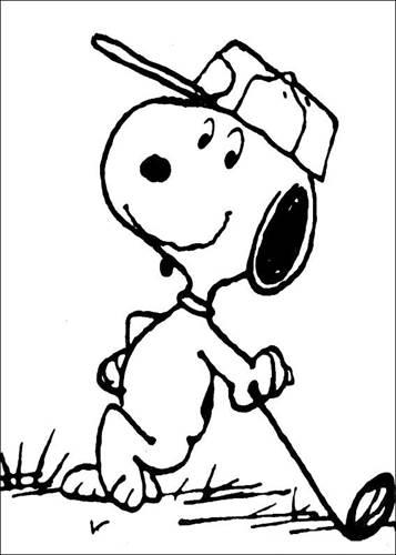 Kids N Fun De 23 Ausmalbilder Von Snoopy