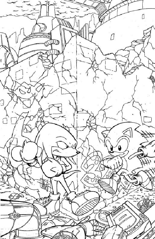 Kids N Fun De 20 Ausmalbilder Von Sonic X