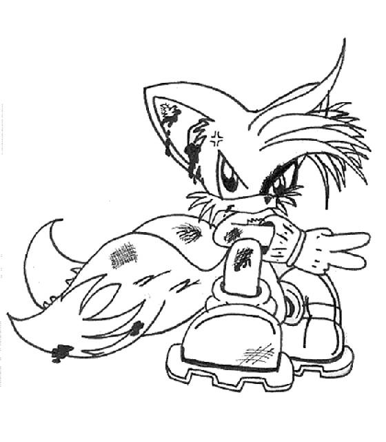 Kids N Fun De Ausmalbild Sonic X Sonic X