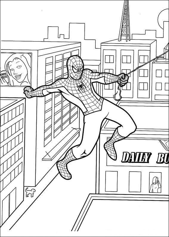 kidsnfunde  malvorlage spiderman spiderman