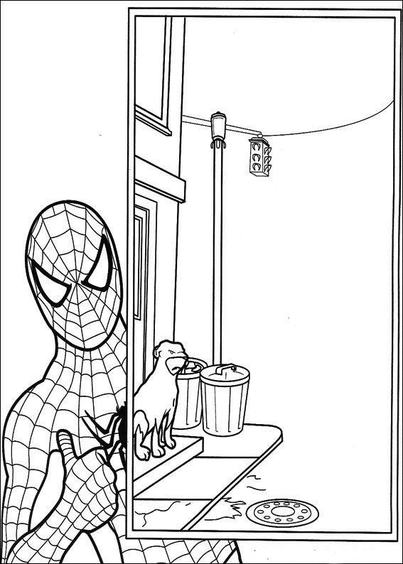 kidsnfunde  27 ausmalbilder von spiderman