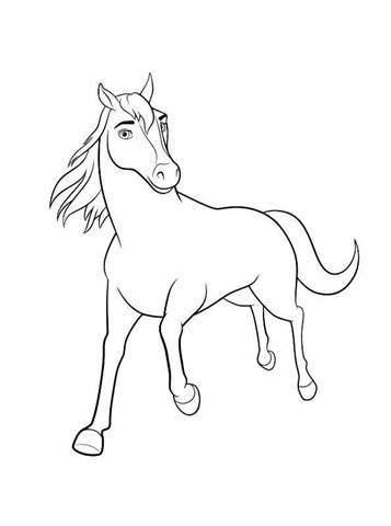 Paard Met Veulen Kleurplaat Kids N Fun De 16 Ausmalbilder Von Spirit Riding Free