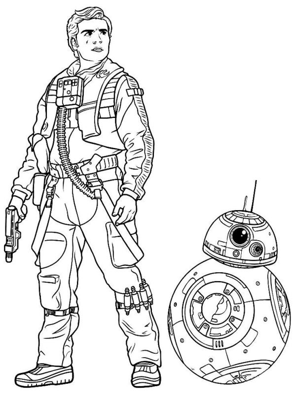 kidsnfunde  malvorlage star wars the force awakens
