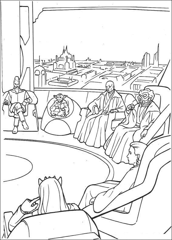 Kids-n-fun.de | Malvorlage Star Wars Star Wars