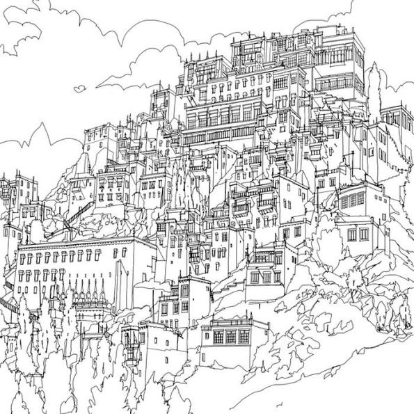 quebec city coloring pages - photo#20